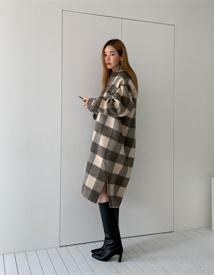 Flat warm coat