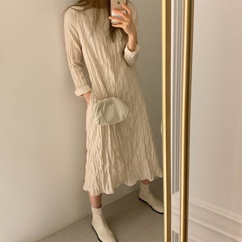 Lilly wrinkle dress