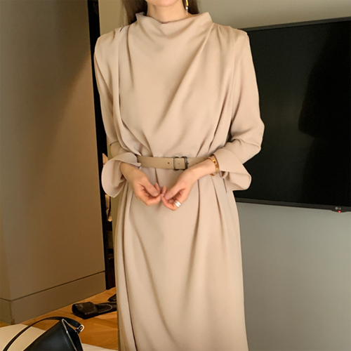 Elegance drape dress