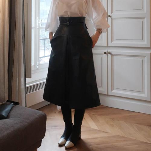 Coating belt skirt