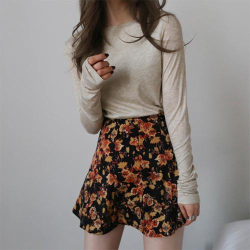 Low flower skirt
