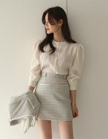 Sugar puff blouse