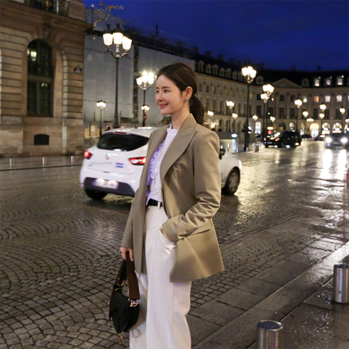 Latte soft jacket