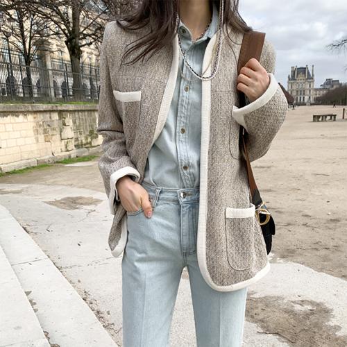Another tweed jacket