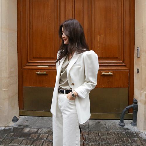 Swan puff jacket