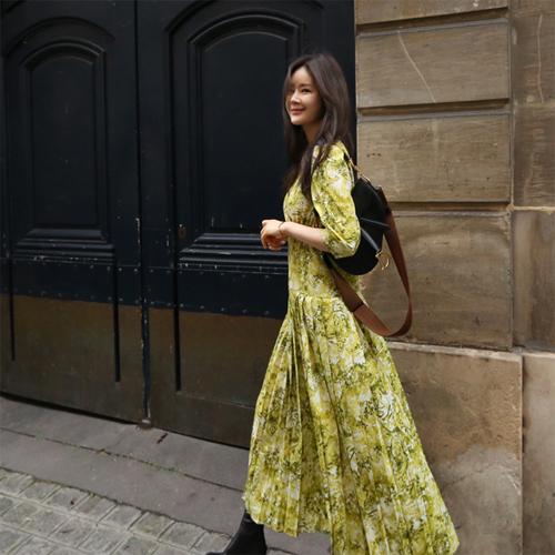 Annie pattern dress
