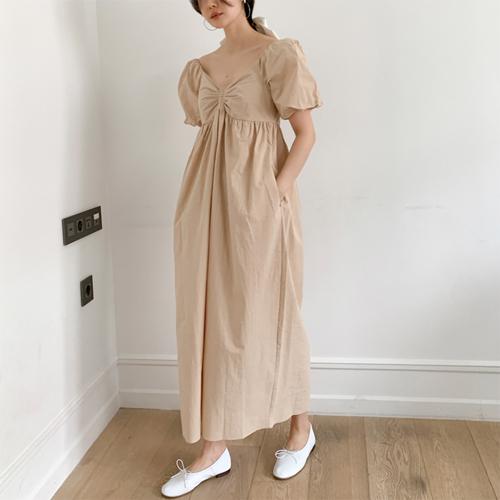 Baby shirring dress