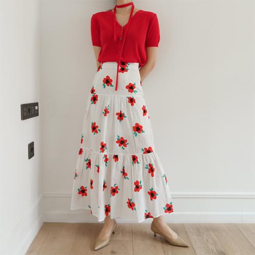 Erin flower skirt