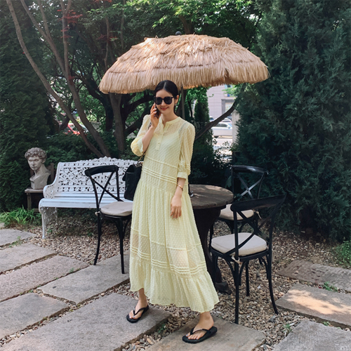 Pia chiffon dress