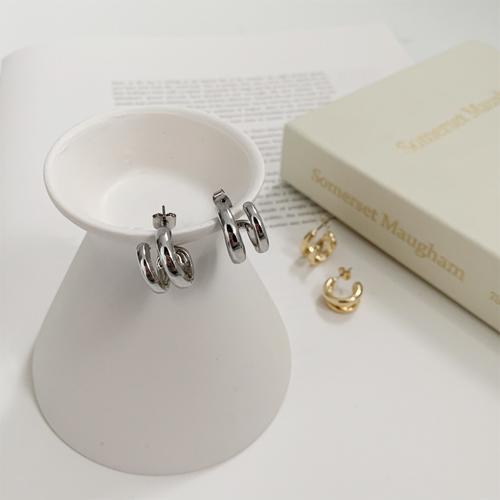 Unbal double earring