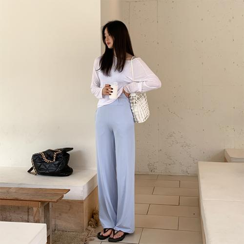 Soft banding pants