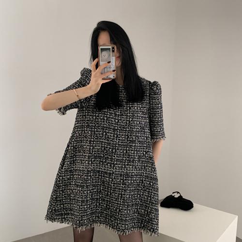 Mona tweed dress