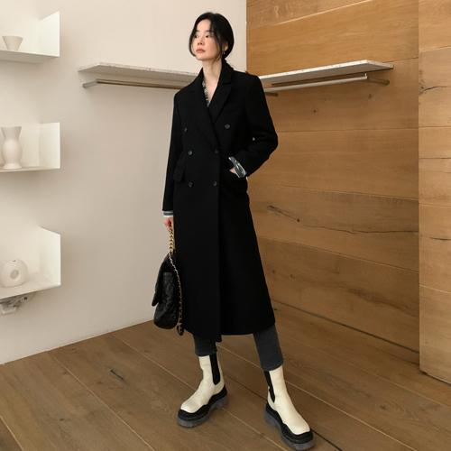 Modern wool coat