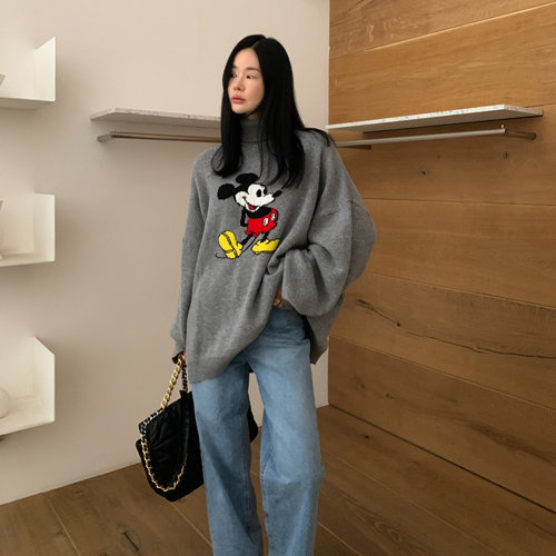 Mickey pola knit