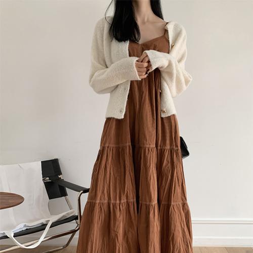 Stitch wrinkle dress