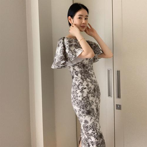 Rachel jacquard dress