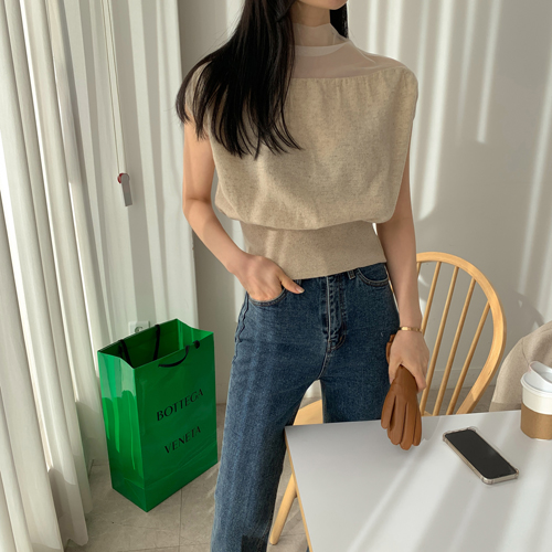 Stell see-through knit