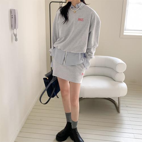 Paris banding skirt