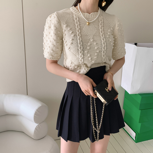Kichi pleats skirt