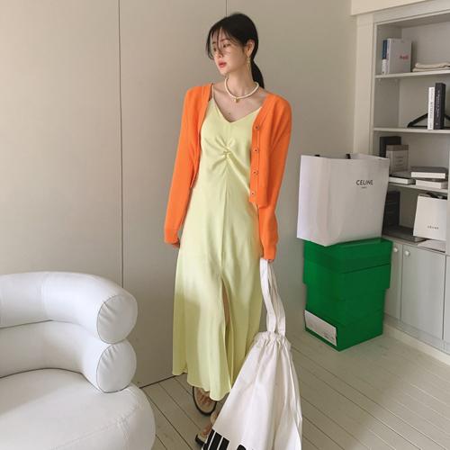 Long-slip dress