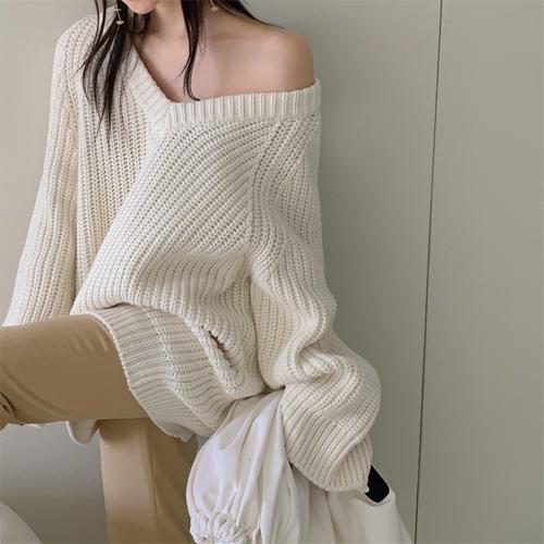 Cozy v-neck knit