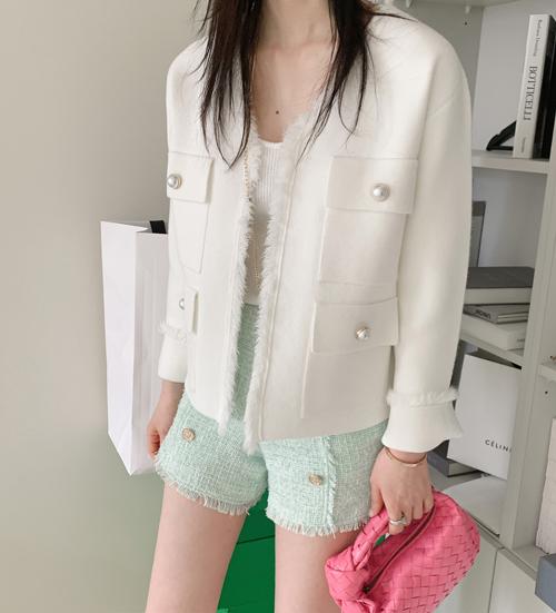 Sya fringe jacket