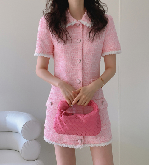 Lala tweed dress