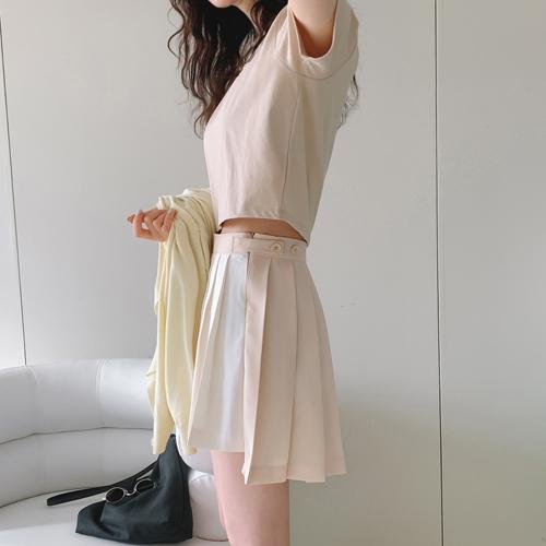 Unbal tennis skirt