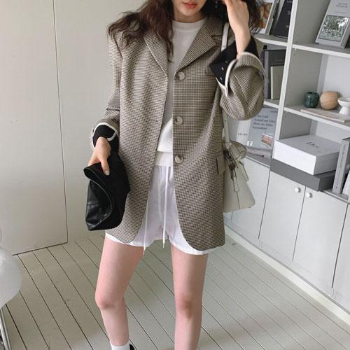 Able check jacket