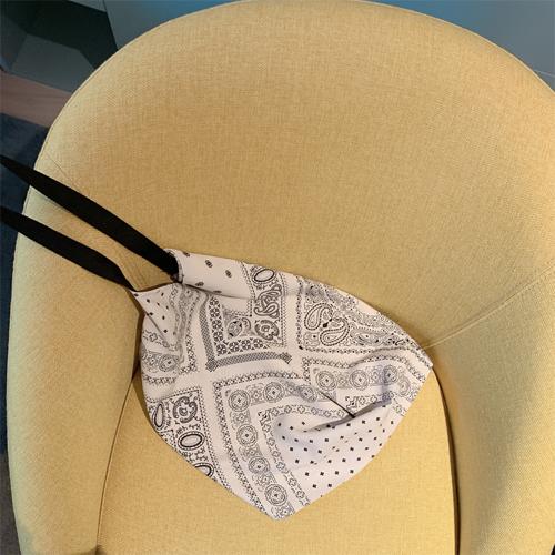 Paisley scarf bag