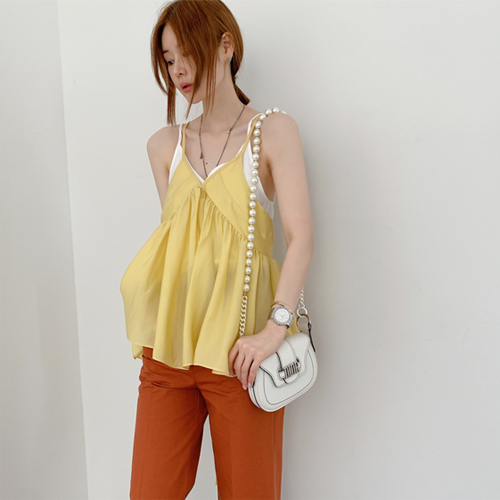 Sally bustier blouse