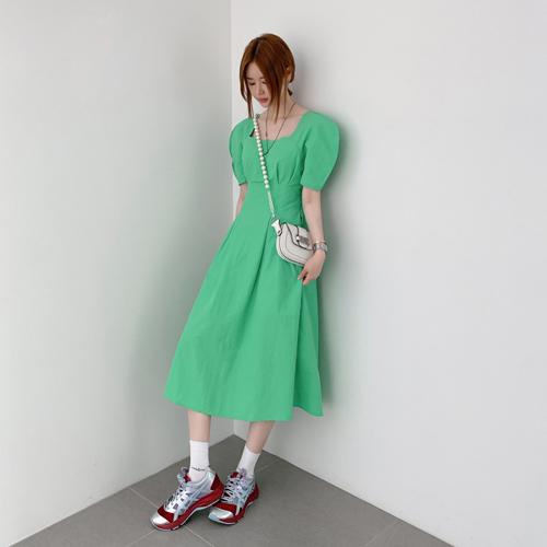 Crease square dress