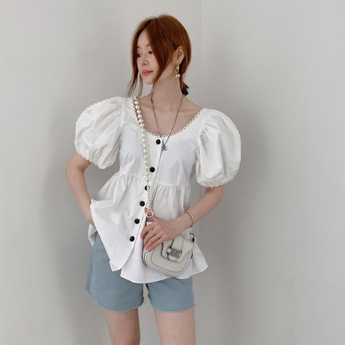 Kayla round blouse