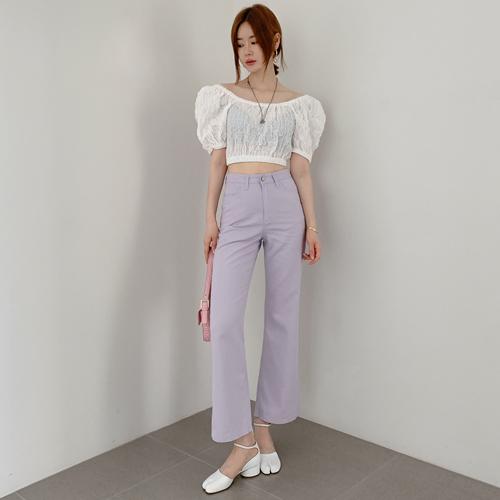 Curin cotton pants