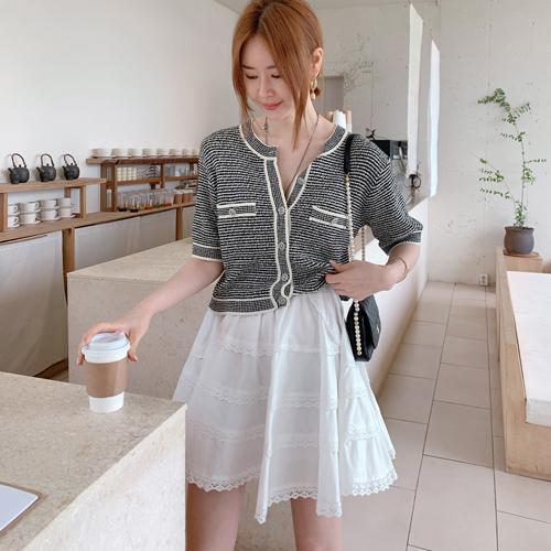Shy banding skirt