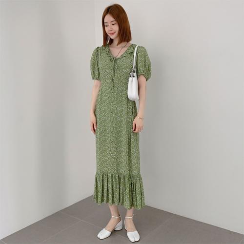 Roje frill dress