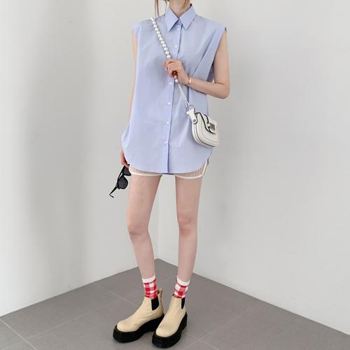 Pick sleeveless shirt