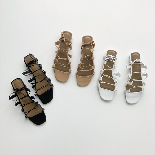 Ongoing strap sandal ♩