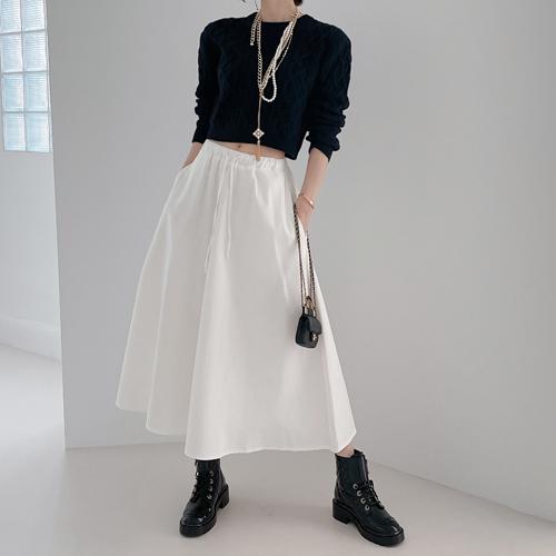 Flare banding skirt