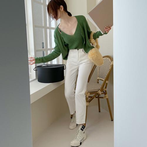 Premium denim pants